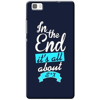 G.store Printed Back Covers for Huawei P8 lite Blue