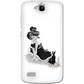 G.store Printed Back Covers for Huawei Honor Holly White