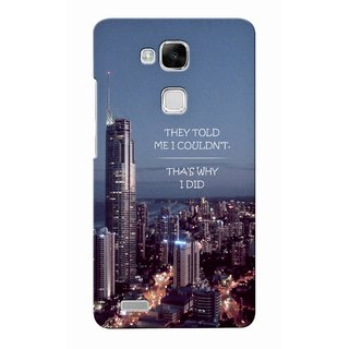 G.store Printed Back Covers for Huawei Ascend Mate 7 Multi
