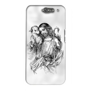 G.store Printed Back Covers for InFocus M812 White