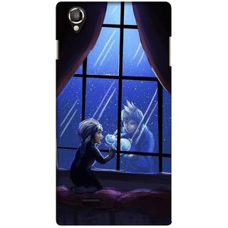 G.store Printed Back Covers for Lava Iris 800 Black