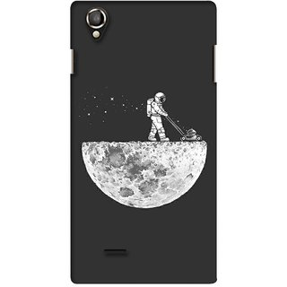 G.store Printed Back Covers for Lava Iris 800 Grey