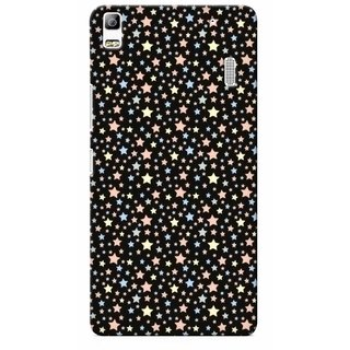 G.store Printed Back Covers for Lenovo A7000 Black