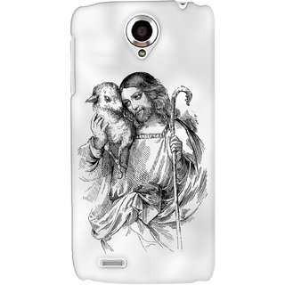 G.store Printed Back Covers for Lenovo S820 White