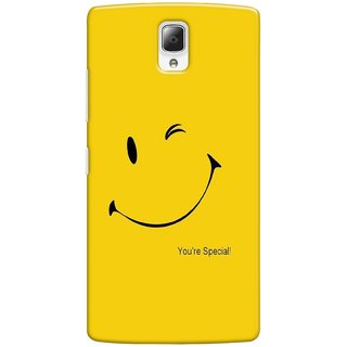 G.store Printed Back Covers for Lenovo a2010 Yellow