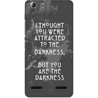 G.store Printed Back Covers for Lenovo A6000 Plus Grey