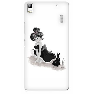 G.store Printed Back Covers for Lenovo K3 Note White