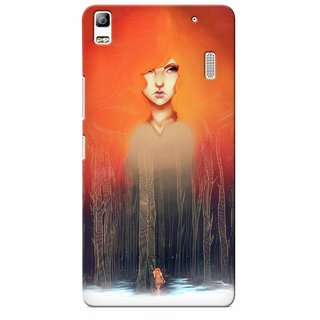 G.store Printed Back Covers for Lenovo K3 Note Multi