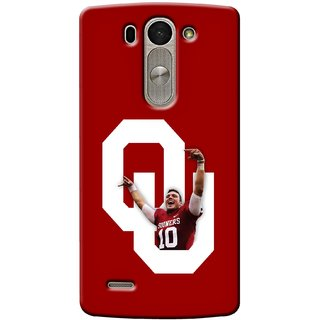 G.store Printed Back Covers for LG G3 Beat Red