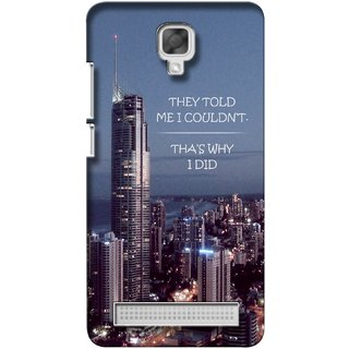 G.store Printed Back Covers for Micromax Bolt Q338 Multi