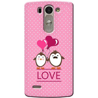 G.store Printed Back Covers for LG G3 Beat Pink