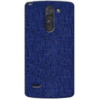 G.store Printed Back Covers for LG G3 Stylus blue
