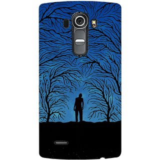 G.store Printed Back Covers for LG G4 Blue