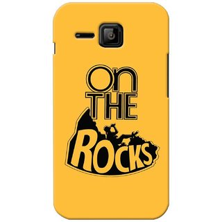 G.store Printed Back Covers for Micromax Bolt S301 Yellow
