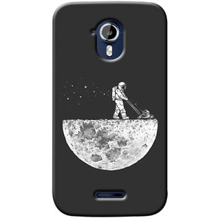 G.store Printed Back Covers for Micromax Canvas Magnus A117 Grey