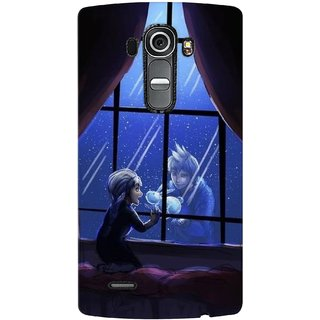 G.store Printed Back Covers for LG G4 Black