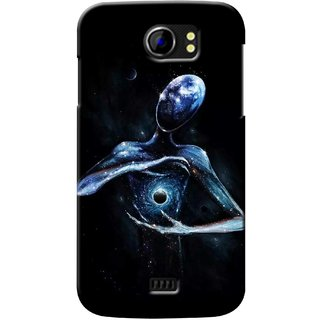 G.store Printed Back Covers for Micromax Canvas 2 A110 Black