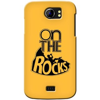 G.store Printed Back Covers for Micromax Canvas 2 A110 Yellow