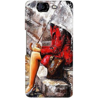 G.store Printed Back Covers for Micromax Canvas Knight A350 Multi