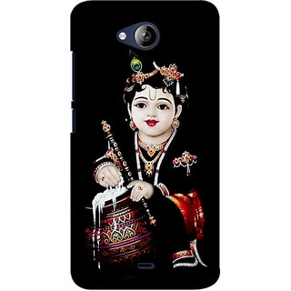 G.store Printed Back Covers for Micromax Canvas Play Q355 Black