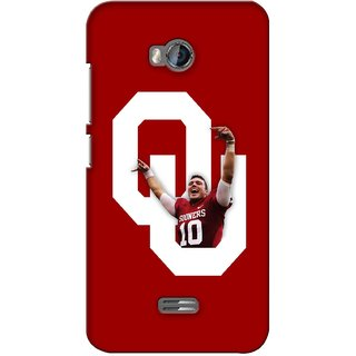 G.store Printed Back Covers for Micromax Bolt Q336 Red