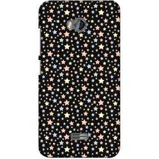 G.store Printed Back Covers for Micromax Bolt Q336 Black