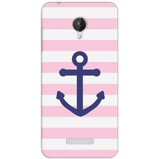 G.store Printed Back Covers for Micromax Canvas Spark Q380 Pink