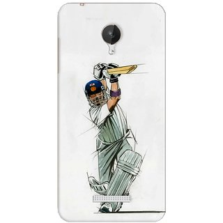 G.store Printed Back Covers for Micromax Canvas Spark Q380 White