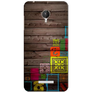 G.store Printed Back Covers for Micromax Canvas Spark Q380 Multi
