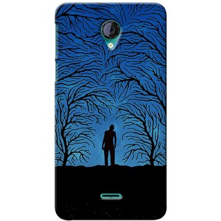 G.store Printed Back Covers for Micromax Unite 2 A106 Blue