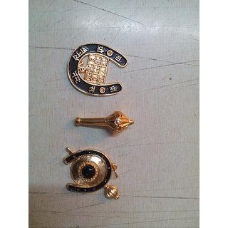 Shani hanuman chakra with hanuman chalisa pendant