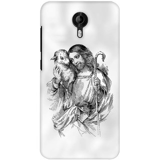 G.store Printed Back Covers for Micromax Canvas Nitro 3 E455 White