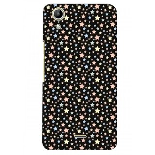 G.store Printed Back Covers for Micromax Canvas Selfie Lens Q345  Black