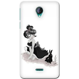 G.store Printed Back Covers for Micromax Unite 2 A106 White