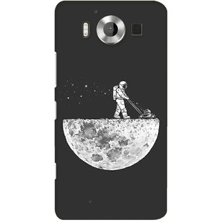 G.store Printed Back Covers for Microsoft Lumia 950 Grey