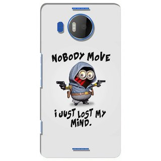 G.store Printed Back Covers for Microsoft Lumia 950 XL Grey