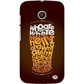 G.store Printed Back Covers for Motorola Moto E Multi
