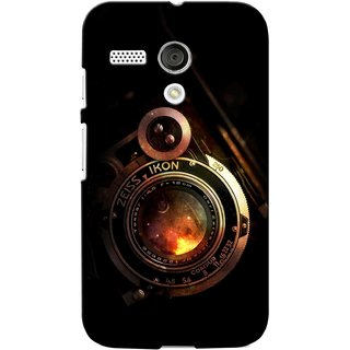 G.store Printed Back Covers for Motorola Moto G Black