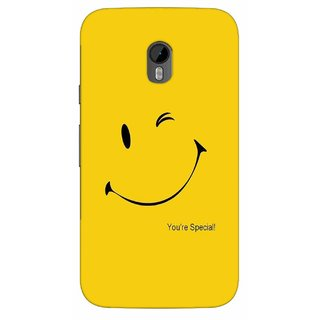 G.store Printed Back Covers for Motorola Moto G (3rd gen) Yellow