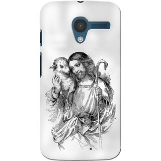 G.store Printed Back Covers for Motorola Moto X White