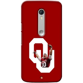 G.store Printed Back Covers for Motorola Moto X Play Red