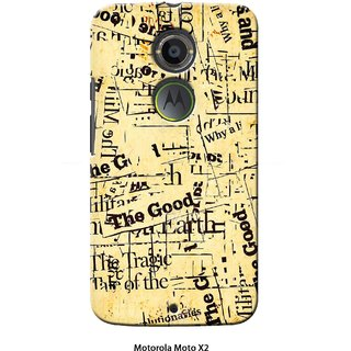 G.store Printed Back Covers for Motorola Moto X (2nd Gen)  Multi