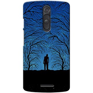 G.store Printed Back Covers for Motorola Moto X (Gen 3)  Blue