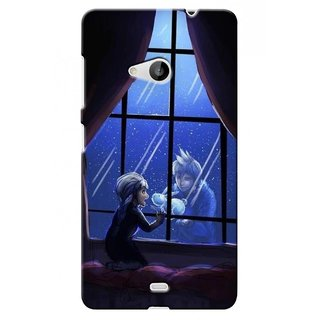 G.store Printed Back Covers for Microsoft Lumia 535 Black