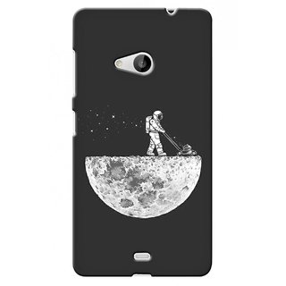 G.store Printed Back Covers for Microsoft Lumia 535 Grey