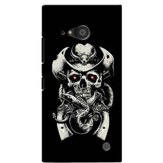 G.store Printed Back Covers for Microsoft Lumia 735 Black