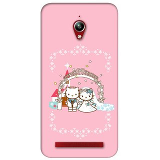 G.store Printed Back Covers for Asus ZenFone Go Pink