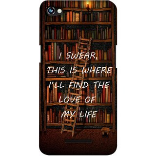 G.store Printed Back Covers for Micromax Canvas Hue 2 A316 Brown