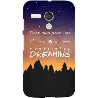 G.store Printed Back Covers for Motorola Moto G Multi