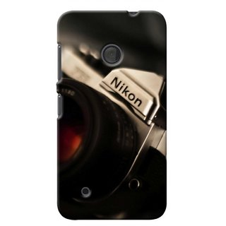 G.store Printed Back Covers for Microsoft Lumia 530  Black